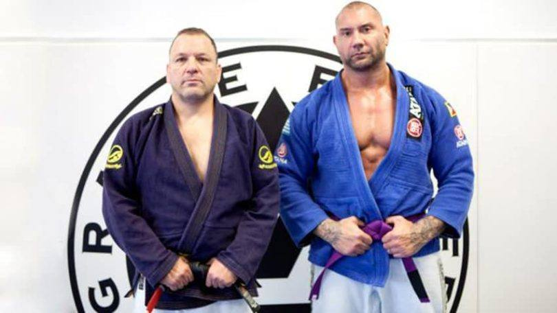 Dave Batista BJJ Purple Belt