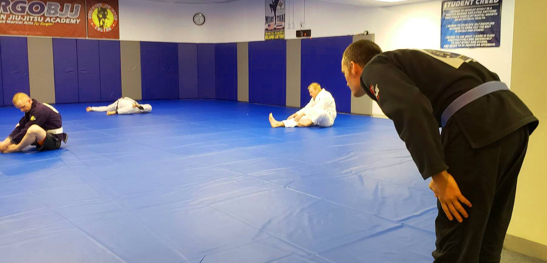 OSS in BJJ - BJJ Customary Bowing